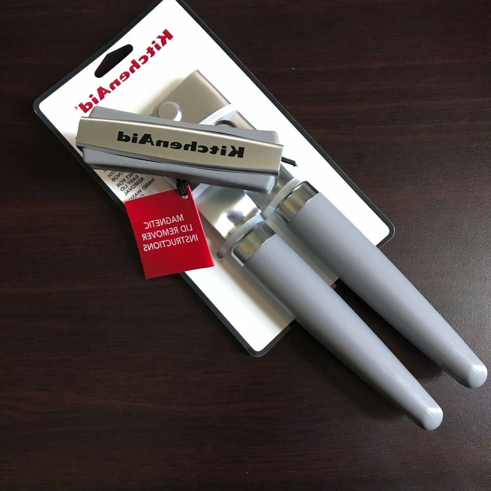 can opener gray new soft crank magnet