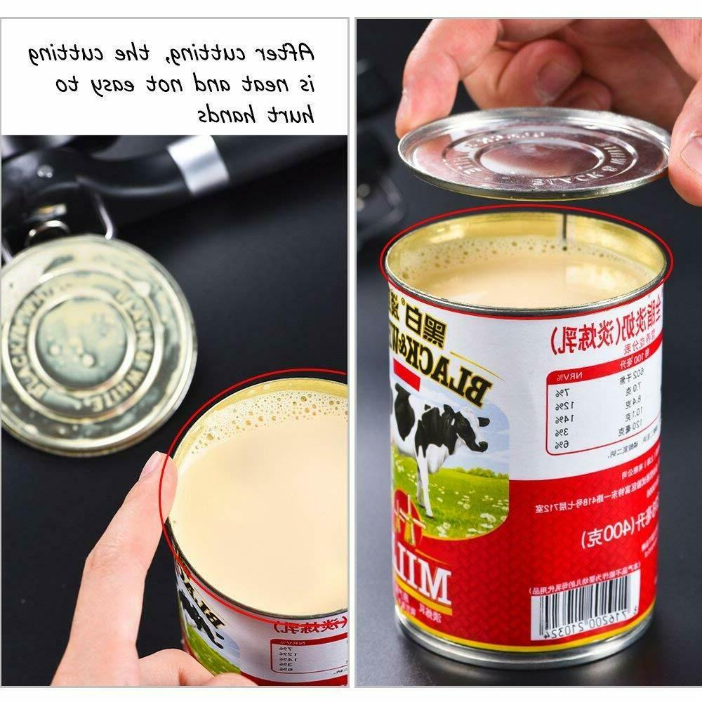 Can Opener Manual Smooth Edge Heavy Build Opener