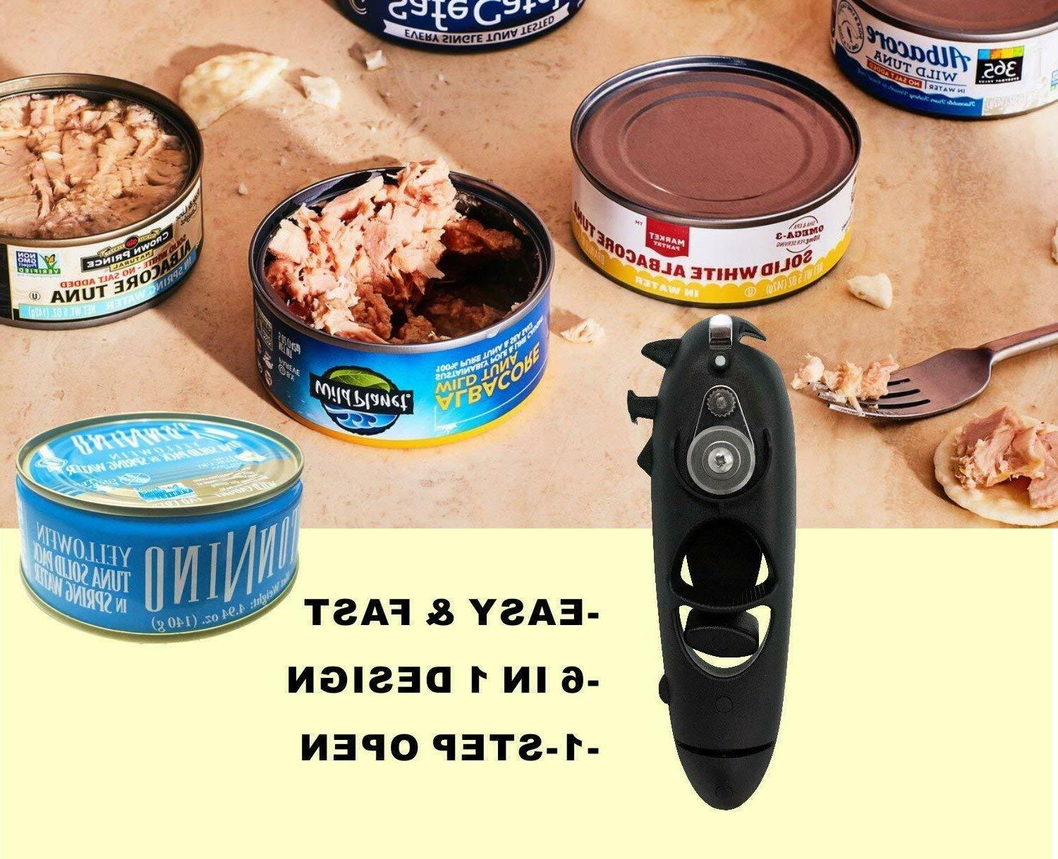 can opener manual smooth edge and heavy