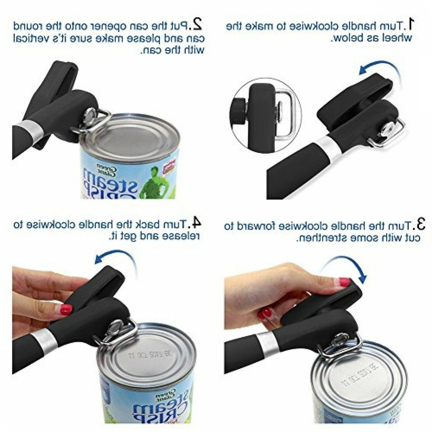 Can Opener Smooth Can Opener Manual Can Open Cut