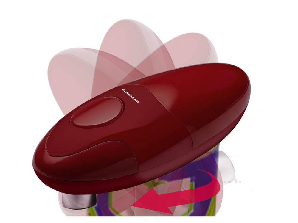 Ovente Smooth Electric Opener Cordless Battery-Operated
