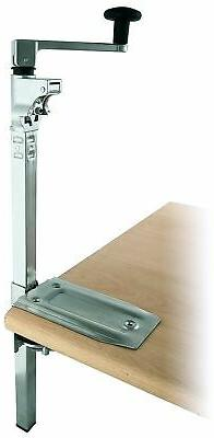 BOJ Commercial Grade Manual Can Opener with Angled Bar Not C