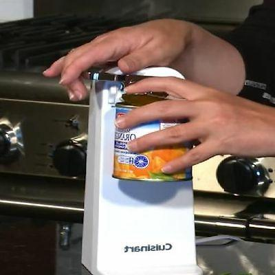 Cuisinart Electric Can Opener Smooth Edge