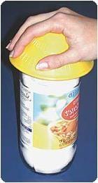 Dycem Multi-Purpose Jar Openers Blue Sheet Opener