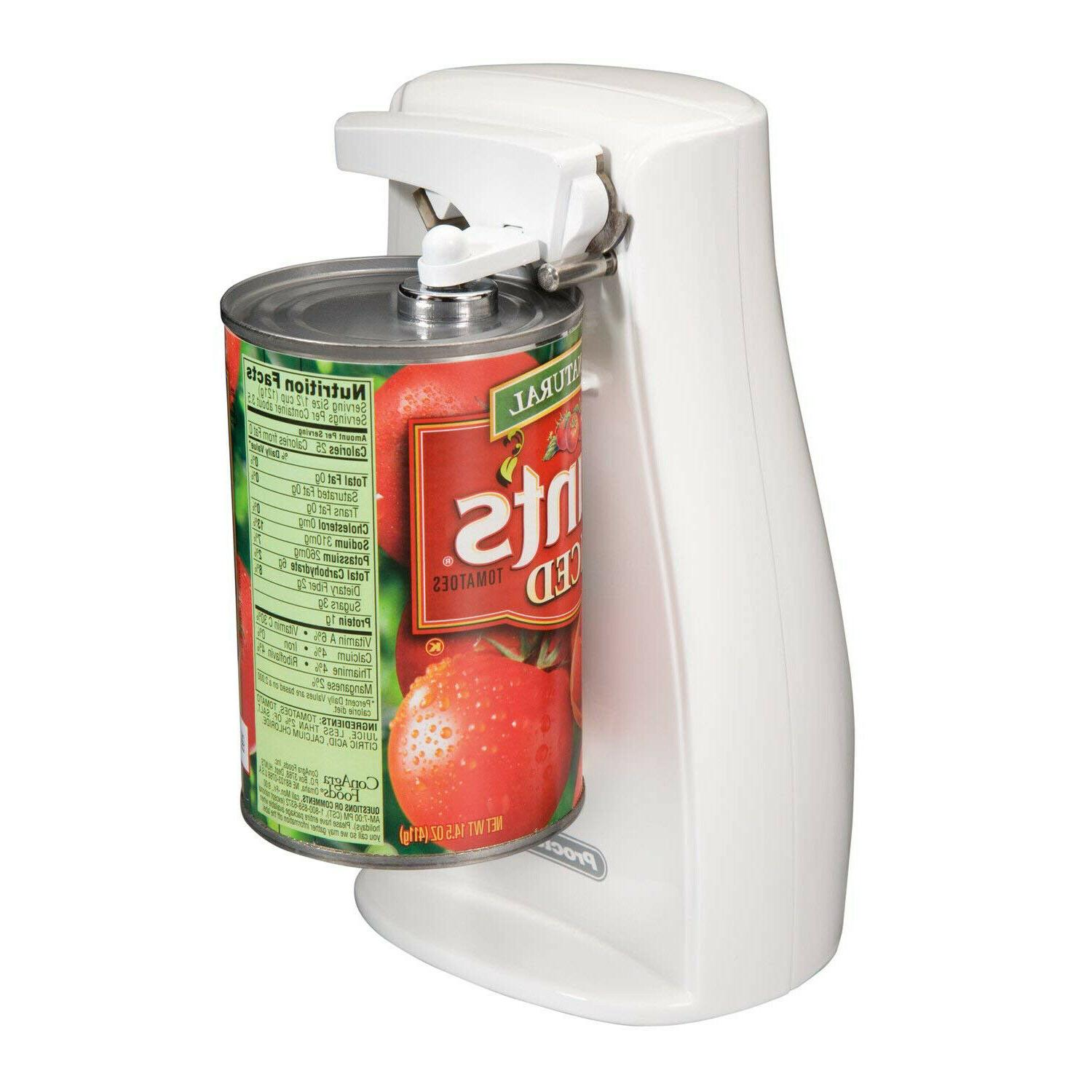 Electric Can Opener and Knife Sharpener Tall Cans Automatic