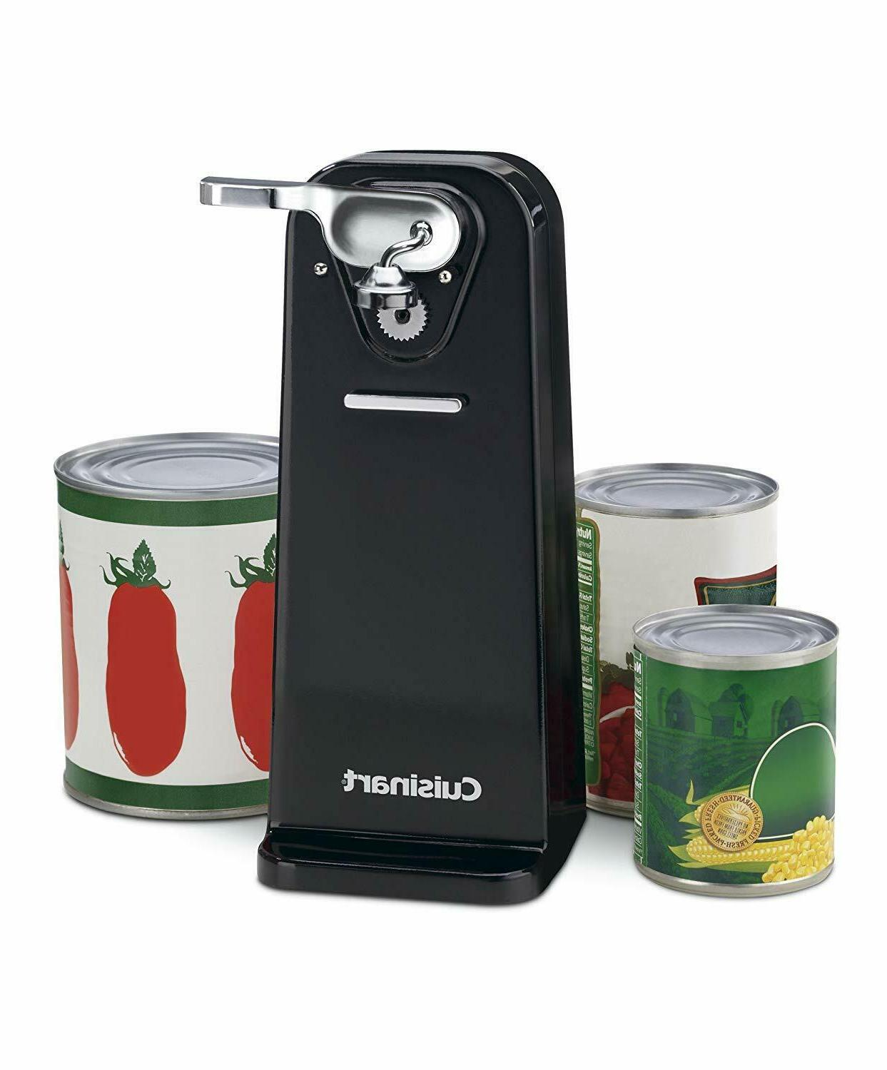 Cuisinart CCO-50BKN Deluxe Electric Can Opener, Black - NEW