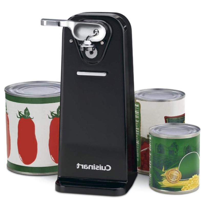 Electric Opener Tall Stainless Heavy Smooth Edge