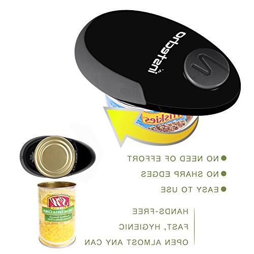 Electric Can Opener, Restaurant Can Opener, Edge Automatic