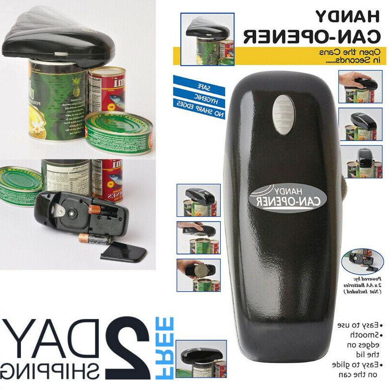 electric can opener smooth edge battery operated
