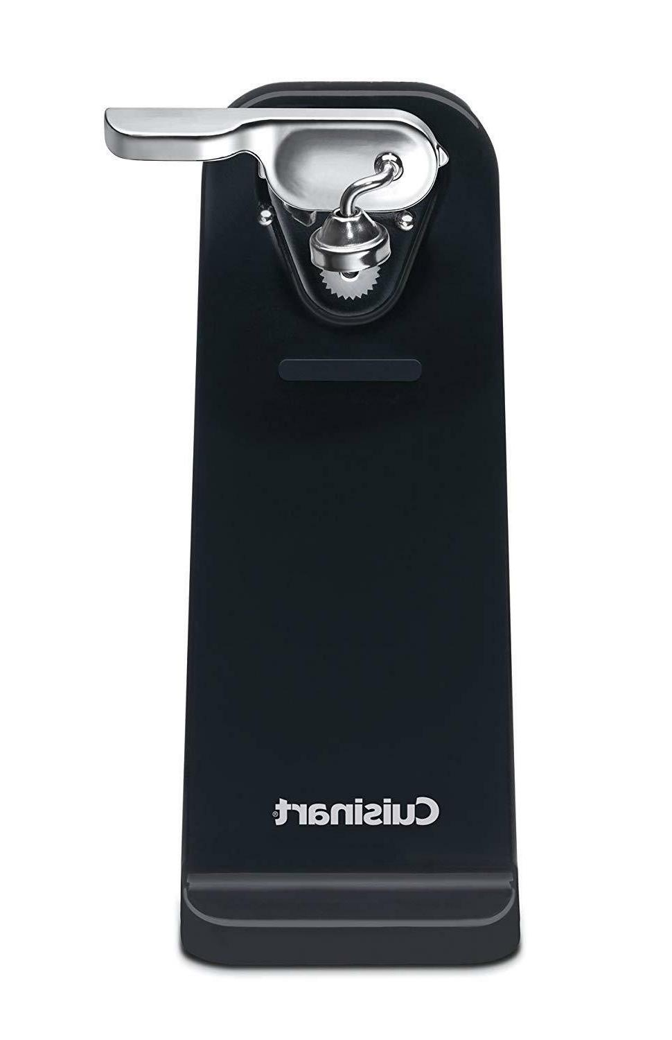 BRAND NEW! Cuisinart Deluxe Electric Can Opener, Black FREE