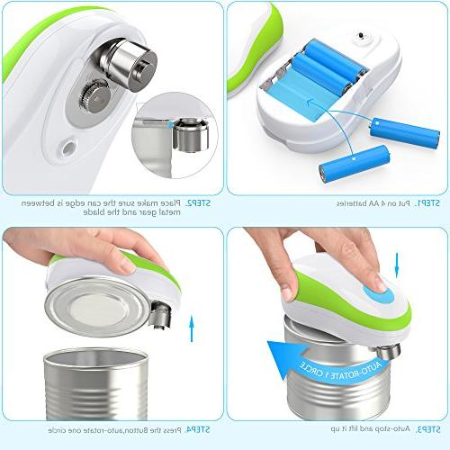 can opener, Automatic Seniors Green