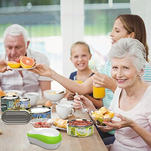 Electric Can can opener, Automatic Seniors Arthritis,