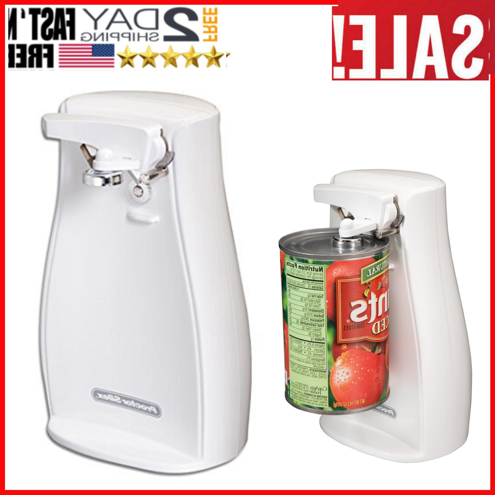 electric can opener w knife sharpener automatic