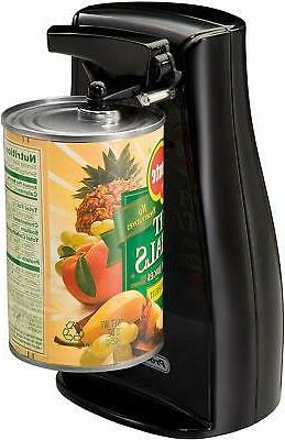 Electric Can Opener with Built In Knife Sharpener Durable Po