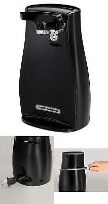 Electric Can Opener With Knife Sharpener Automatic Tall Cans