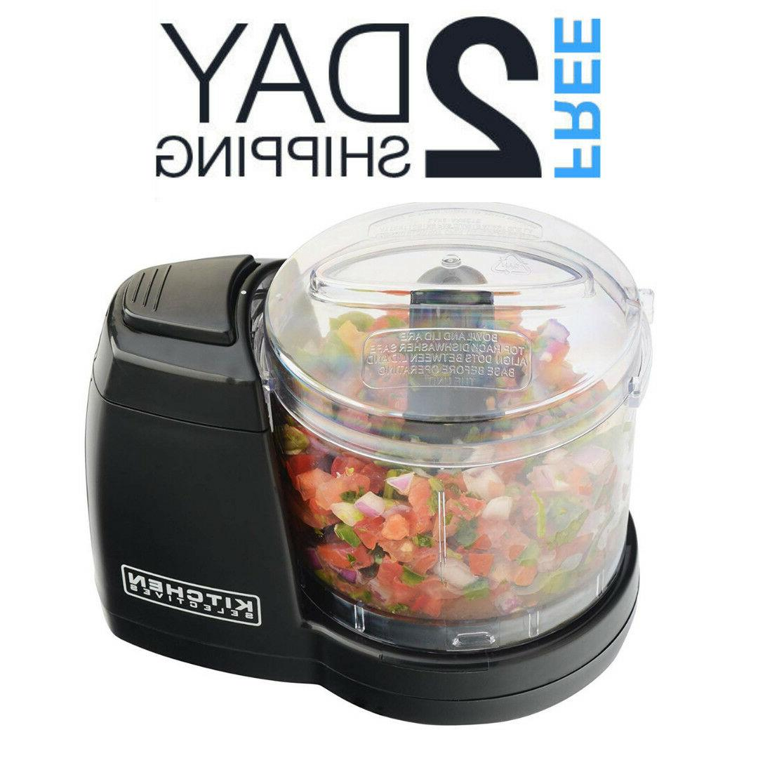 Electric Food Chopper Mini Processor Small Compact Vegetable