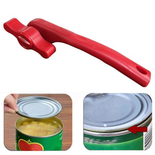Ergonomic Can Cans Lid Smooth Edge Side Home Kitchen~~~