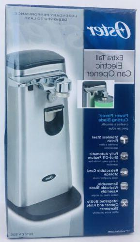 extra tall electric can opener stainless steel