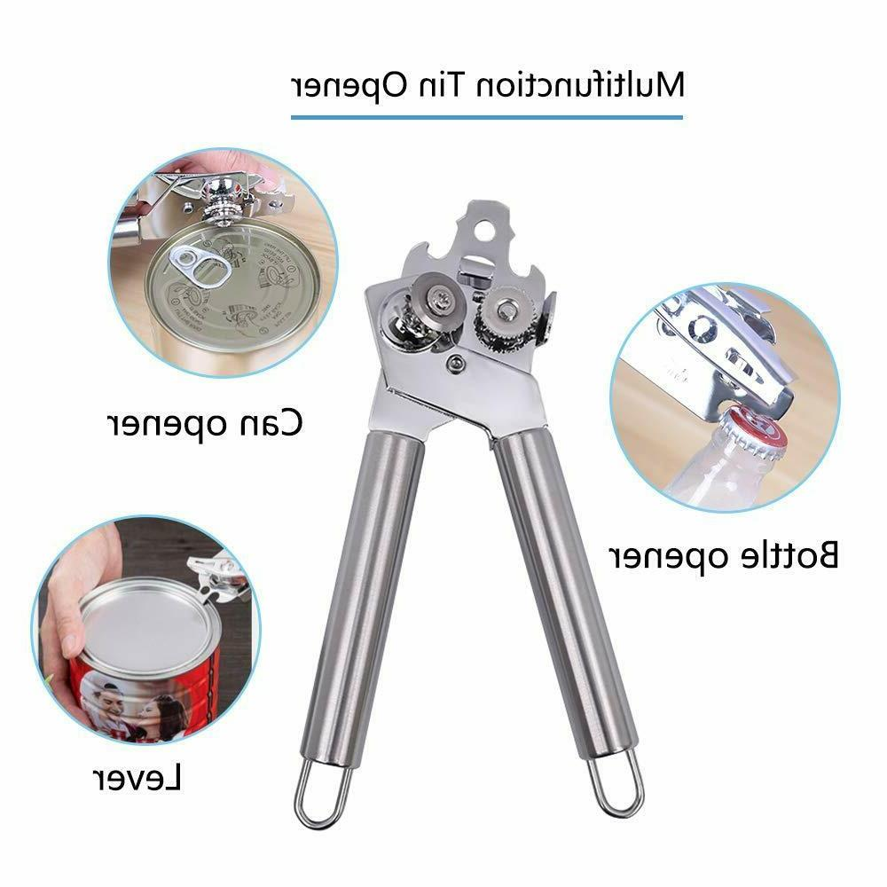 Food Safety Stainless Steel 3 in Can Opener Tin Bottle Opener