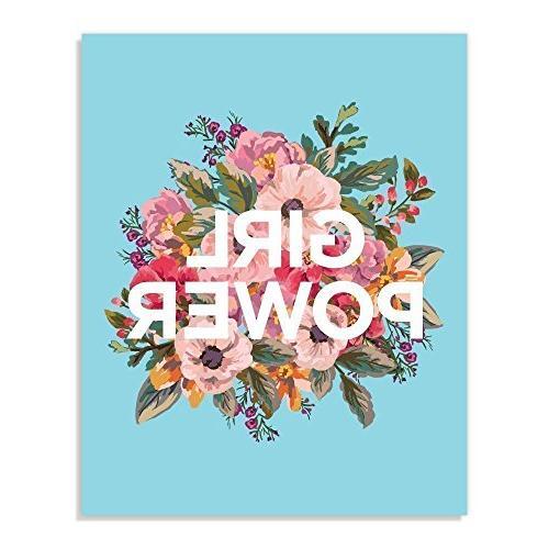 girl power inspirational wall print