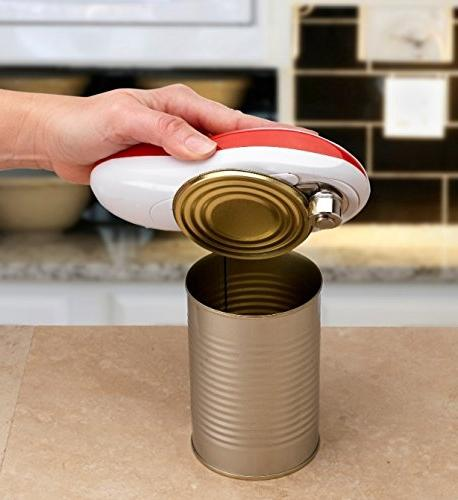 Hands free automatic can opener Tornado