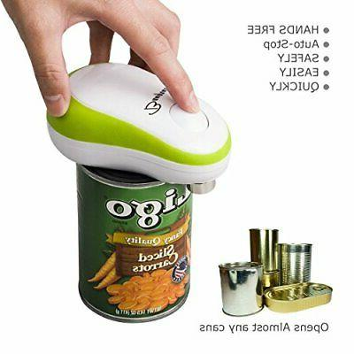 Kitchen Cordless One Touch Can Opener&2019 Green