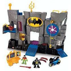 Imaginext Adventures DC Super Friends Bat Cave with Figures