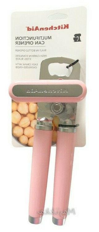 Kitchen Aid Multifunction Can Opener - Guava Glaze Pink  KE1