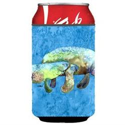 Manatee Can or Bottle Beverage Insulator Hugger