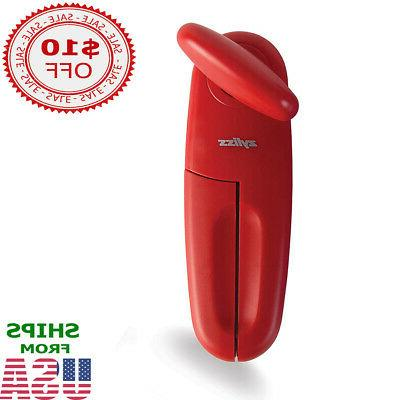 Manual Can Opener Red Zyliss MagiCan Safety Smooth Edge Home
