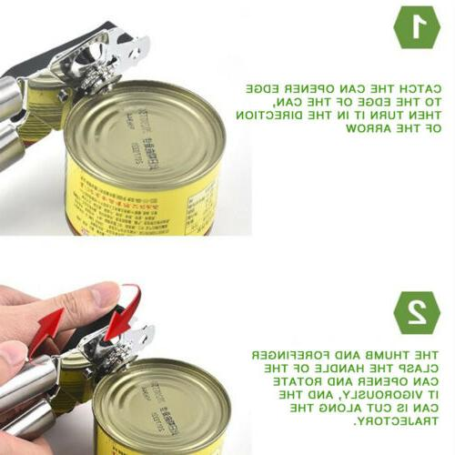 Manual Jar Smooth Edge Stainless Tools