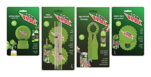Jokari 6 Mountain Dew Logo Beverage Gadget