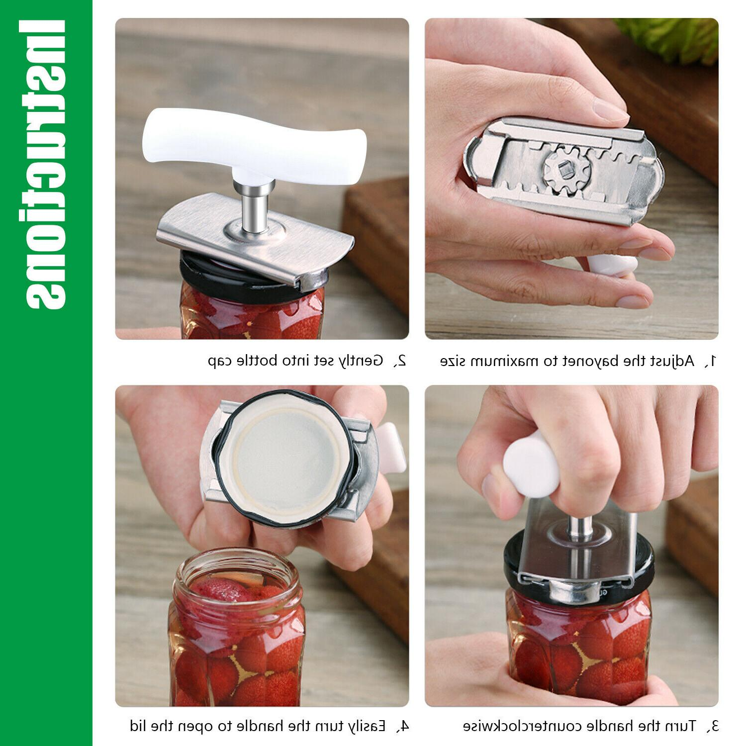 Adjustable Stainless Steel Bottle Remover Tool