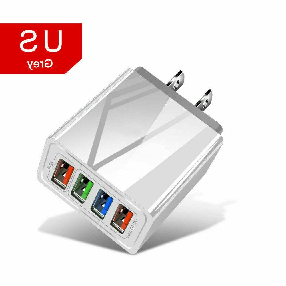 4 Charge 3.0 USB Power Adapter US
