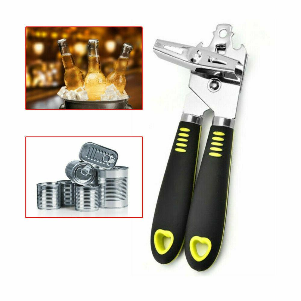 Multifunction Can Opener Smooth Edge Safe Cut Aid