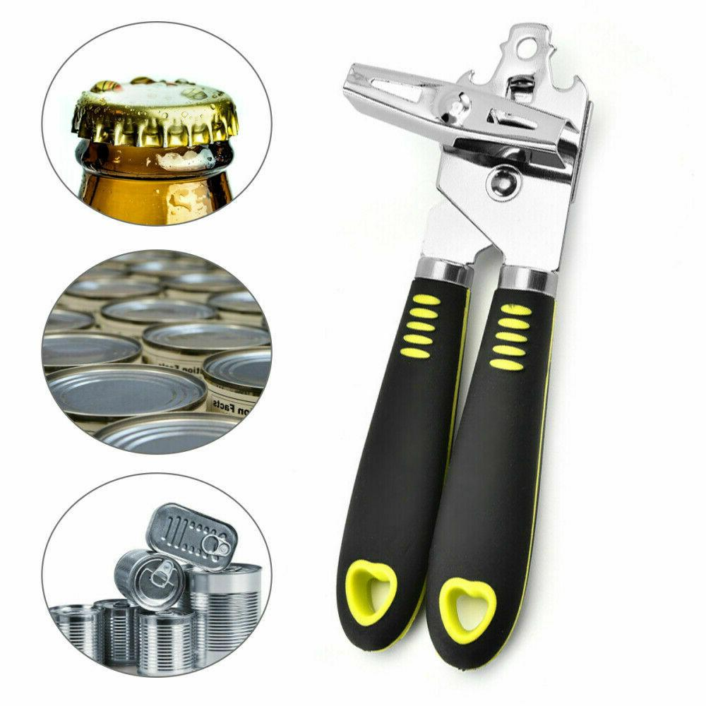 Multifunction Steel Manual Can Opener Edge Safe Aid