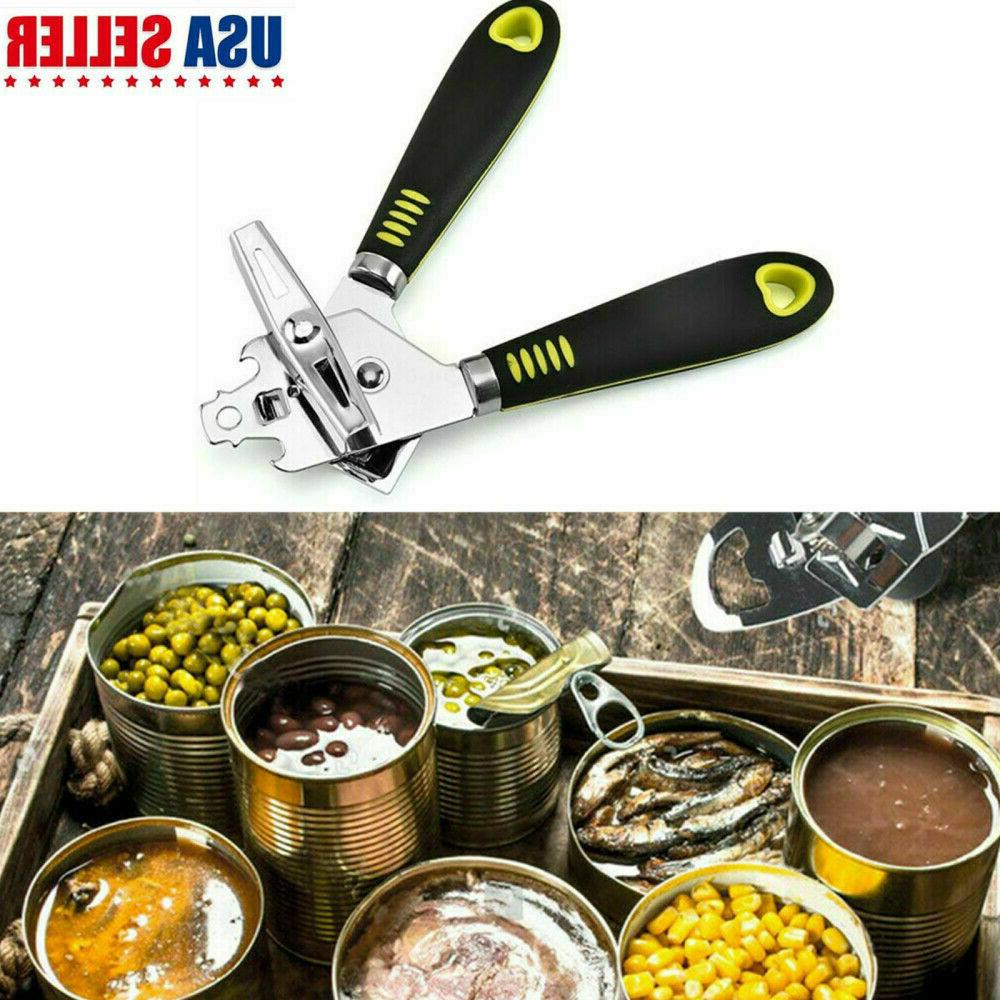 multifunction stainless steel manual can opener smooth