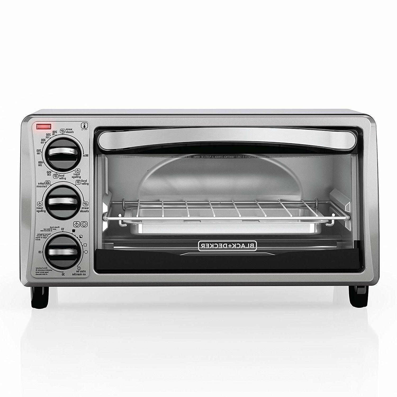 Applica TO1313SBD Black & Decker 4-Slice Toaster Oven ...