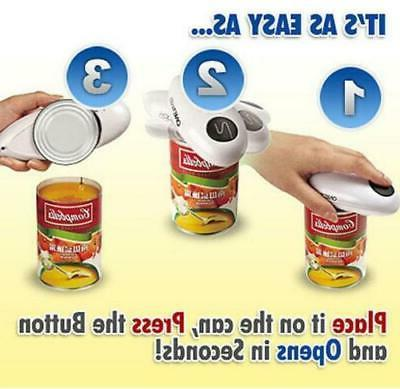 new one touch automatic can jar opener