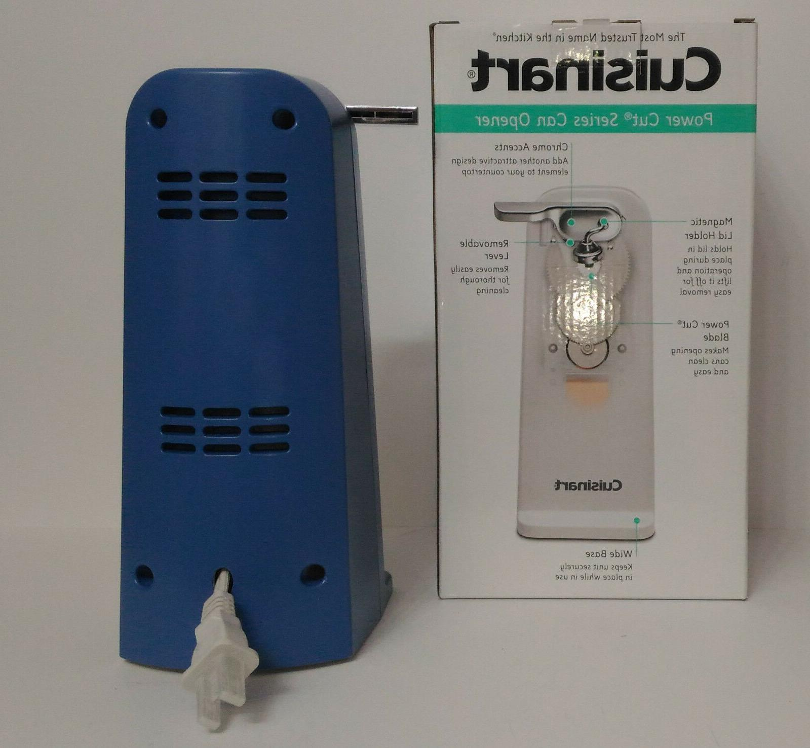 New Periwinkle Cuisinart Electric Can Opener, Blue KitchenAid