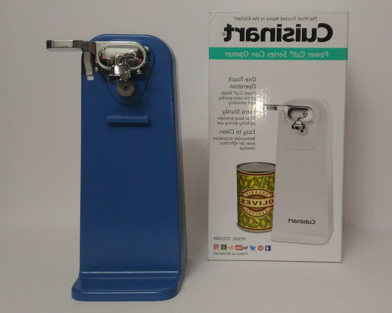 new periwinkle tall electric can opener cornflower