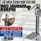 Old Reliable Manual Heavy Duty Can Opener with Base Business