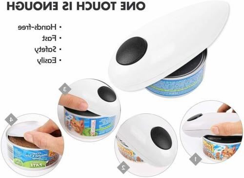 One Touch Automatic Can Portable Kitchen Tin Jar Opener