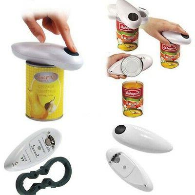 Open Cordless Operated One Can Jar Opener Tin