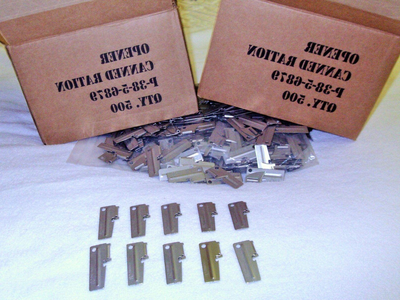 P38 Army & Marines Can Opener 10 Piece Made For US Military