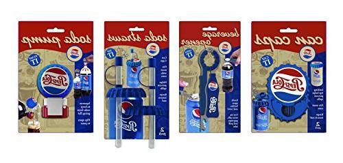 Jokari 6 Piece Pepsi Heritage Beverage