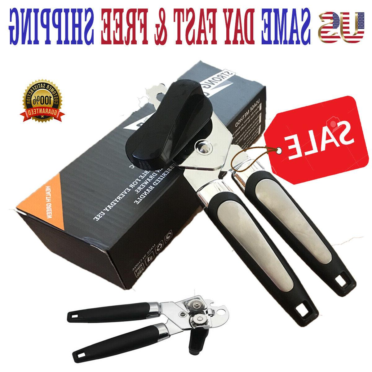 premium can opener stainless steel blade professional