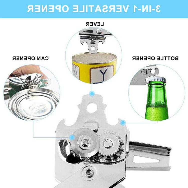CAN OPENER Pro Duty Stainless Jar Lid Manual Tool
