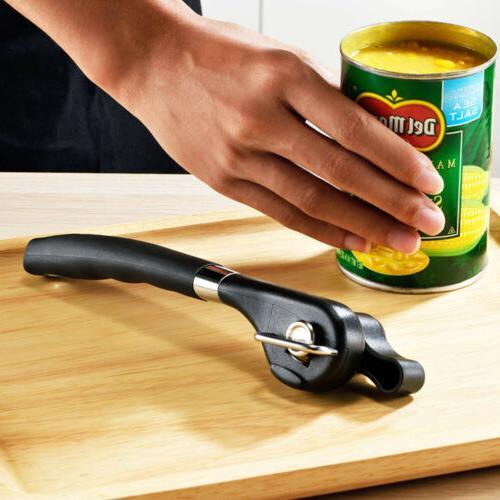 Professional Tin Opener Safe Lid Smooth Edge Steel