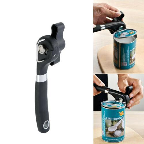 Can Opener Effortless Smooth Edge Manual Stainless Steel Han